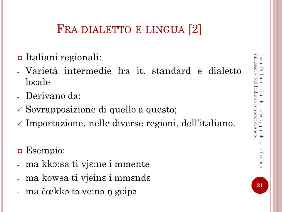 Fra dialetto e lingua [2]